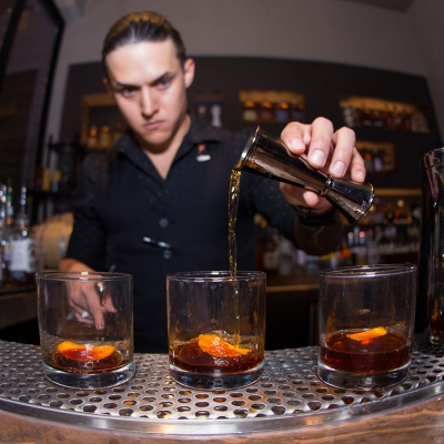 Drinks at The Terrace, Sake Rok Las Vegas