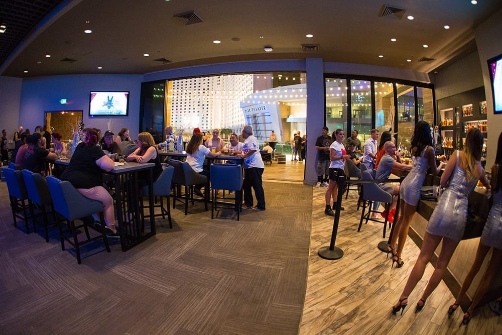 The Terrace bar, Sake Rok Las Vegas